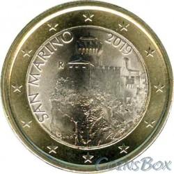 Сан-Марино 1 евро 2019 год