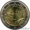 Сан-Марино 2 евро 2019 год