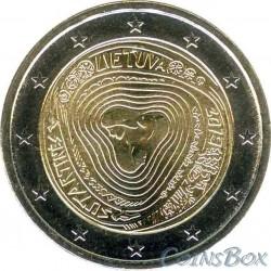 Литва 2 евро 2019 Сутартинес