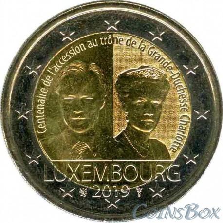 Luxembourg 2 Euro 2019 Duchess Charlotte
