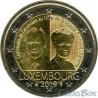 Люксембург 2 евро 2019 год Герцогиня Шарлотта