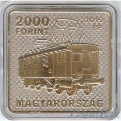 Hungary 2000 Forints 2019 Kando Kalman. Tram