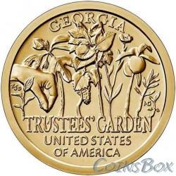 1 Dollar 2019 Garden of Trustees