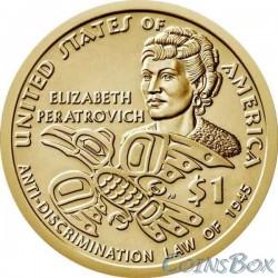 1 Sakagavea Dollar Elizabeth Peratrovich 2020