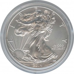 1 USA Dollar 2014 Walking freedom. Eagle.