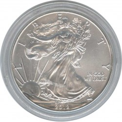 1 USA Dollar 2012 Walking freedom. Eagle.