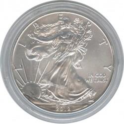 США 1 доллар 2012 Шагающая свобода. Орел.