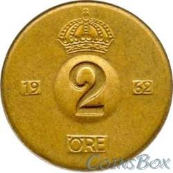 Sweden 2 Ore 1962