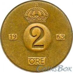 Sweden 2 Ore 1963