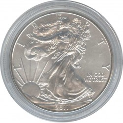 1 USA Dollar 2011 Walking freedom. Eagle.