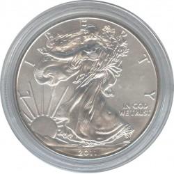США 1 доллар 2011 Шагающая свобода. Орел.