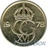 Швеция 10 эре 1978