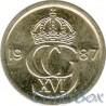 Швеция 10 эре 1987