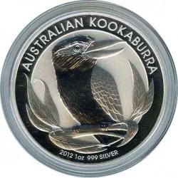 1 Dollar 2012. Kookaburra