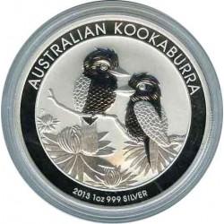 1 Dollar 2013. Kookaburra