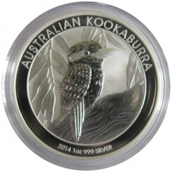 1 Доллар 2014 год. Кукабарра