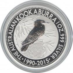 1 Доллар 2015 год. Кукабарра