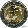 Luxembourg 2 euro 2020 200 years Henry of Orange