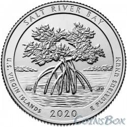 25 cents 2020 53rd Salt River Bay National Historical Park and Ecological Reserve