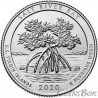 25 cents 2020 53rd Salt River Bay National Historical Park and Ecological Reserve