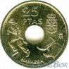 Spain 25 pesetas 1999 Navarra