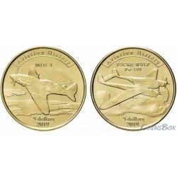 Agrihan 2019 5 dollars Aircraft 2 pieces