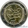 Финляндия 2 евро 2021 год Журналистика