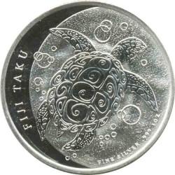 2 Доллара 2011 год. Черепаха Таку
