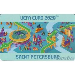 Transport card Plantain. UEFA EURO 2020