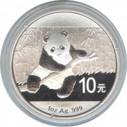 10 Yuan Silver Panda 2014