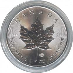 Canada 5 dollars 2014 Maple Leaf