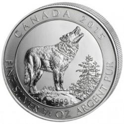 Canada 2 dollars 2015 Wolf