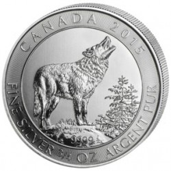 Канада 2 доллара 2015 Волк