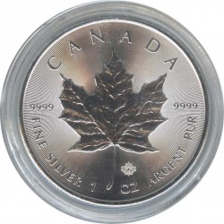 Canada 5 dollars 2015 Maple Leaf