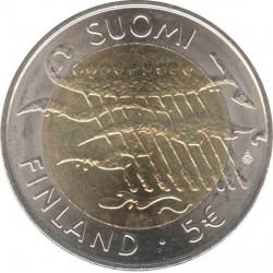 Финляндия 5 евро 2007. Независимость