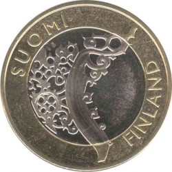 Finland 5 Euro 2010. Ancestral province
