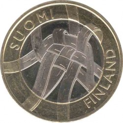 Финляндия 5 евро 2011 Карелия (Karjala)
