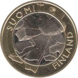 Финляндия 5 евро 2011 Остроботния (Pohjanmaan)