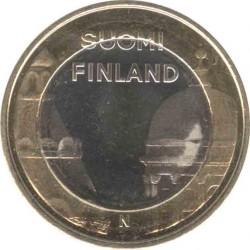 Финляндия 5 евро 2012 Уусимаа (Uusimaa) Кафедральный и Успенский собор