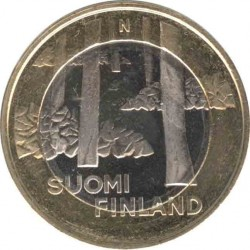 Финляндия 5 евро 2013 Сатакунта (Satakunnan)
