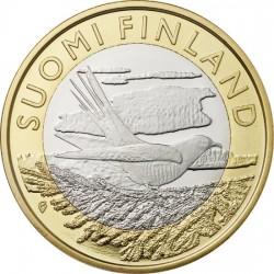 Финляндия 5 евро 2014 Карелия. Кукушка