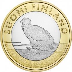 Финляндия 5 евро 2014. Орлан-белохвост. Аландские острова