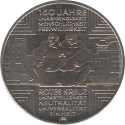 10 Euro 2013 150 years Red Cross