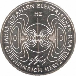 10 Euro 2013 125 years of Heinrich Hertz