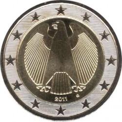 Германия 2 евро 2011 (G)