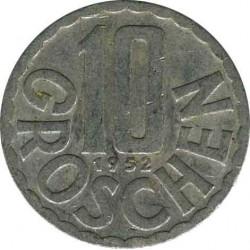 Austria 10 groschen 1952
