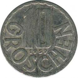 Austria 10 groschen 1957