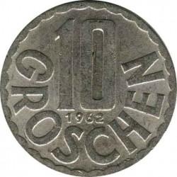 Austria 10 groschen 1962