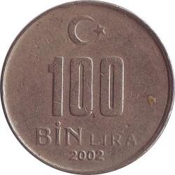 Turkey 100 Bin Lira 2002