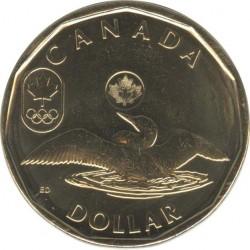 Канада 1 доллар 2012 Олимпийская утка